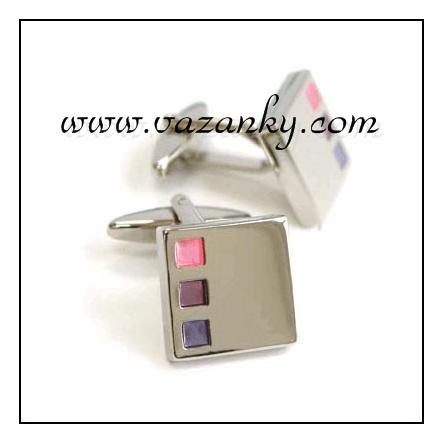 Kravata - vázanka Růžová - fialová