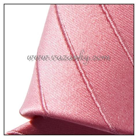 Kravata - vázanka Růžová
