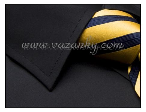 Kravata - vázanka Černá